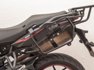 TIGER 1050 Sport Side Case Carrier / Givi Side Case Holder. Black 2013on Made in Germany by Fehling.de
